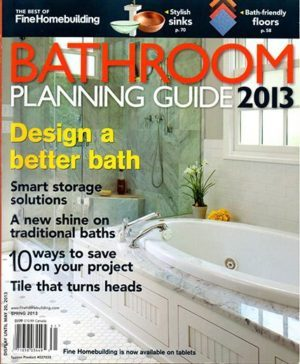Fine Homebuilding: Bathroom Planning Guide